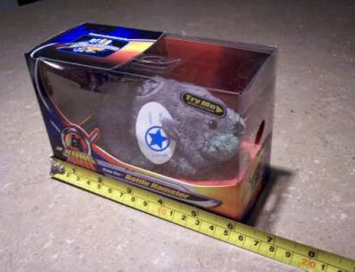 Re-Package & Shrink Wrap Electronic Toy Hamsters