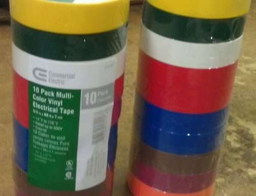 Re-Packaged Electrical Tape
