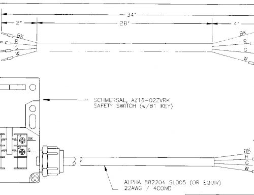 Correcting Assembly Drawings & Cutting Costs; Starter Switch and Wire Harnesses